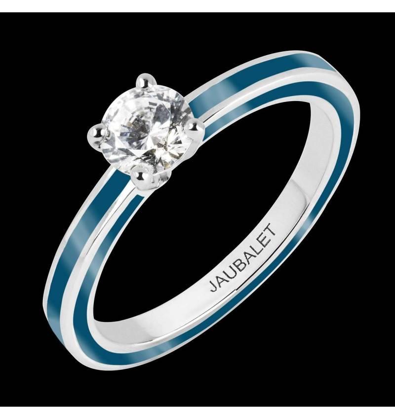 Verlobungsring mit Diamant und Lack Judith Full Lack