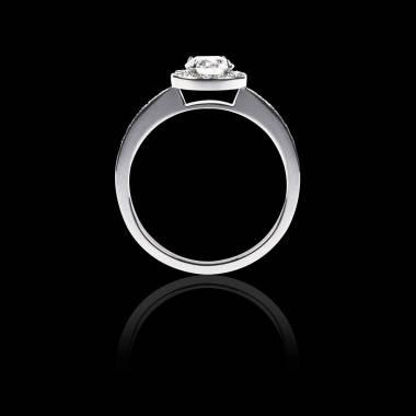 Verlobungsring mit Diamant in Weissgold Rekha