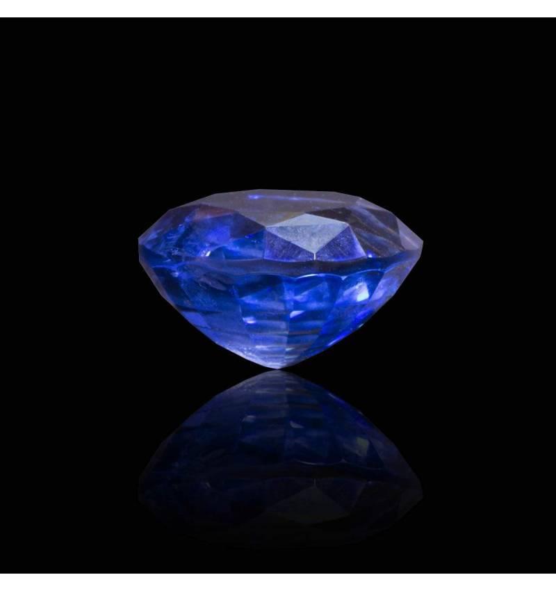 Achat saphir bleu