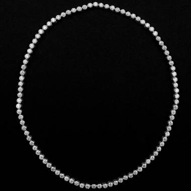 Diamantkette Perle de diamants