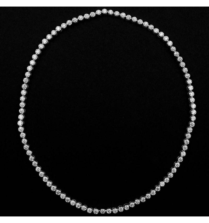Diamantkette Perle de diamants