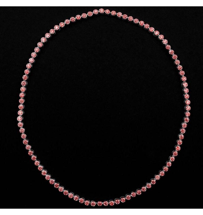 Rubinkette Perle de diamants