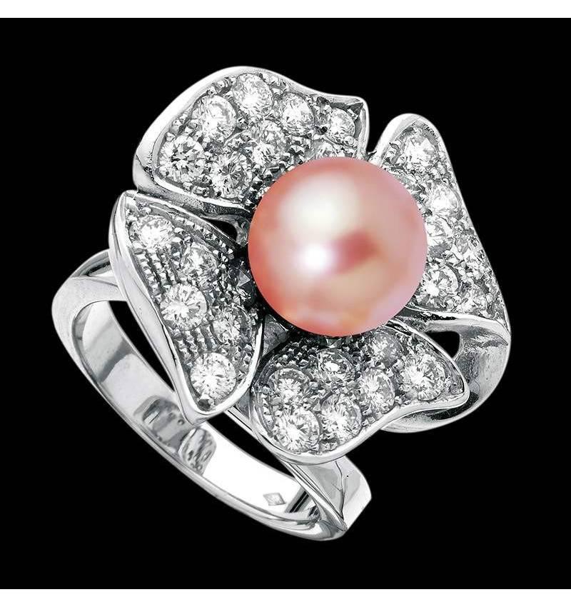 Rosa Perlenring Eternal Flower