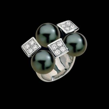 Schwarzer Perlenring Archipel