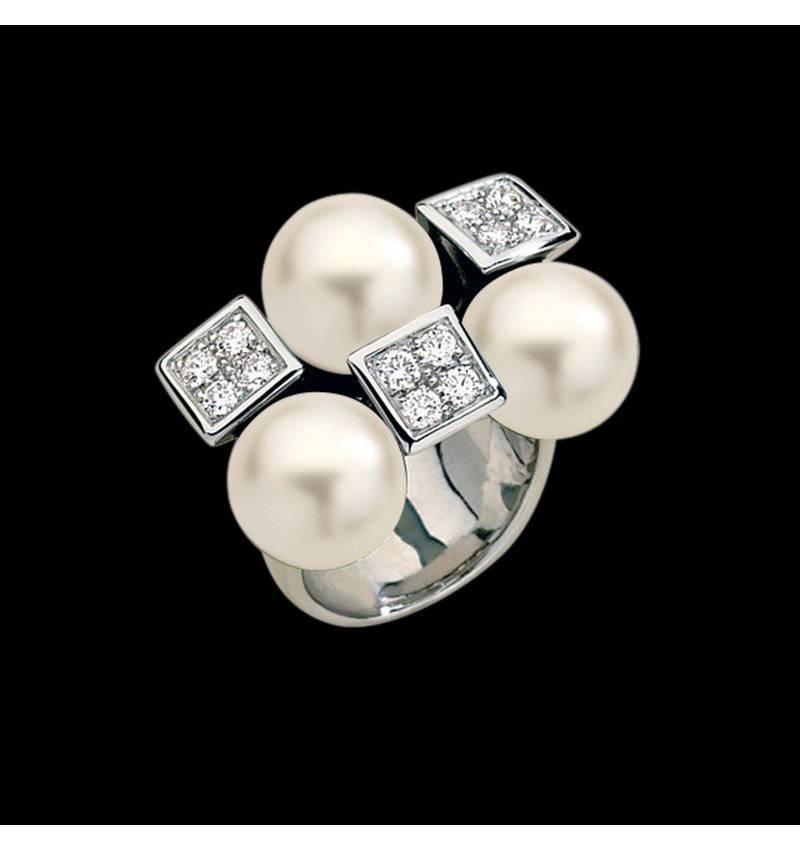 Weisser Perlenring Archipel