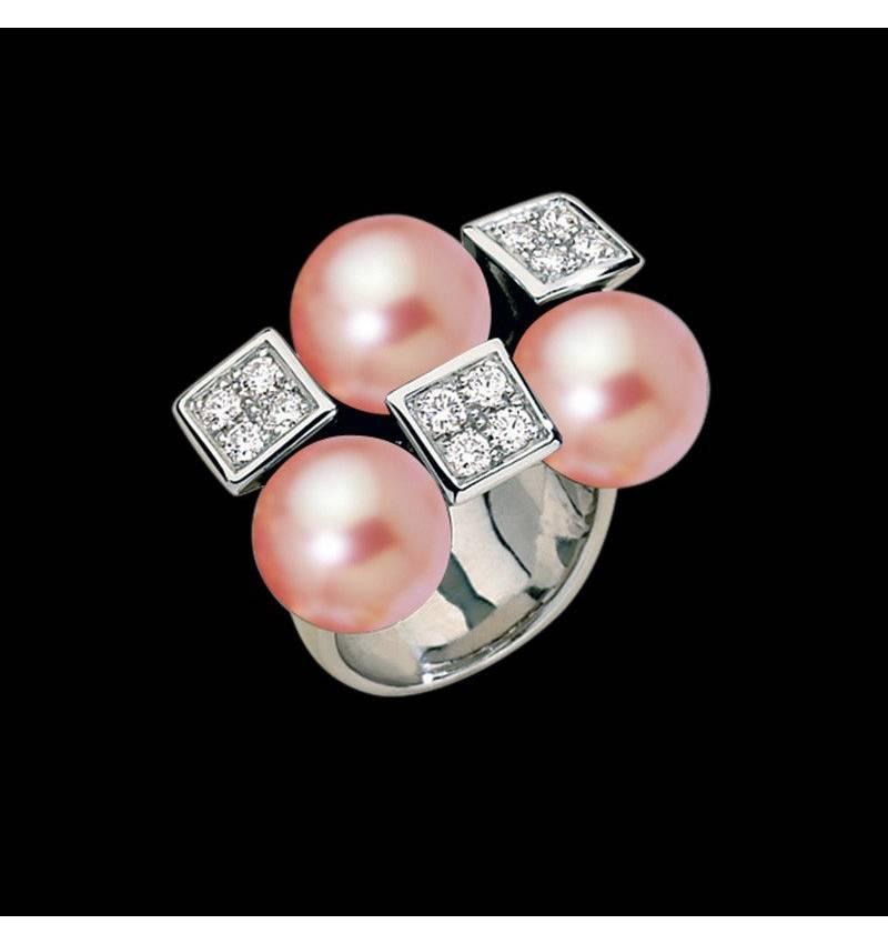 Rosa Perlenring Archipel
