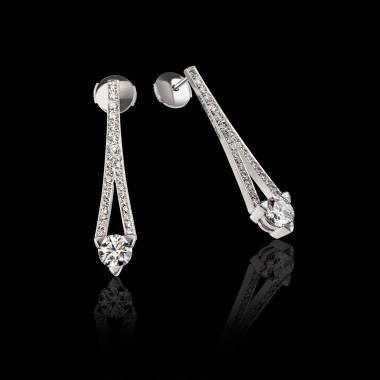 Diamantohrringe Plena Luna