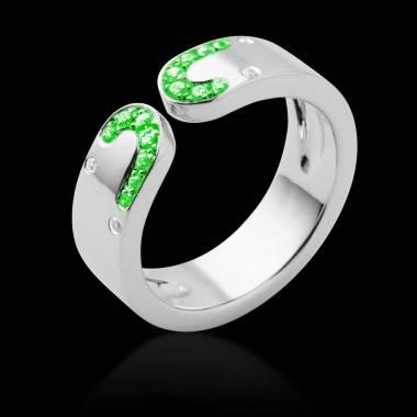 Smaragdring Séductrice