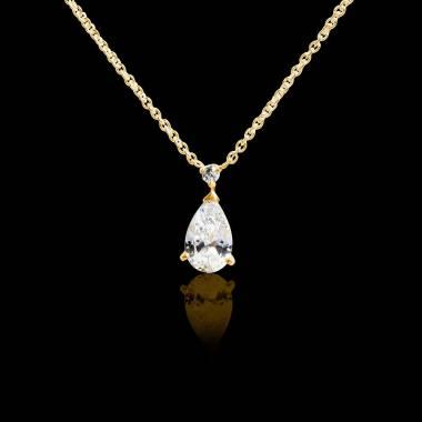 Diamantanhänger Goutte d'amour