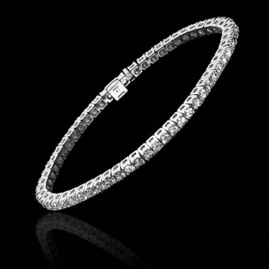 Diamantarmband Tennis