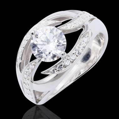 Bague diamant or Ophélie