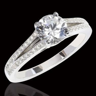 Verlobungsring mit Diamant Marie