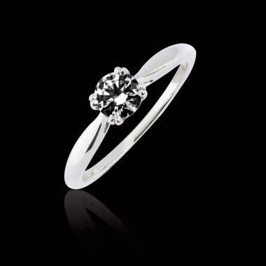 Bague diamant noir Laureen solo