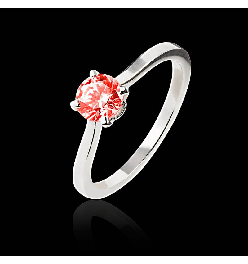 Bague Spinelle rouge Vanessa solo