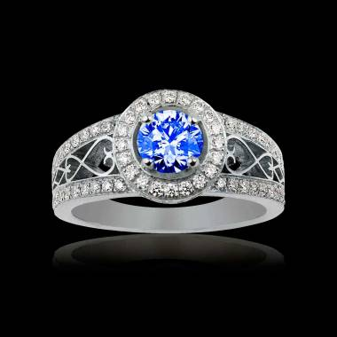 Bague Tanzanite Tsarine