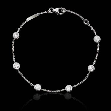 Bracelet diamants Galets
