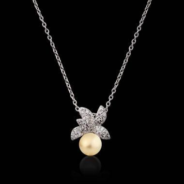 Pendentif perle Gold Céleste