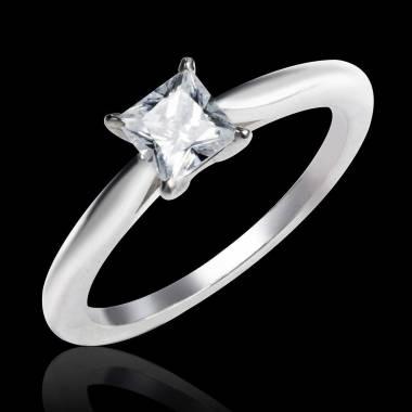 Diamantsolitär in Weissgold  My Love