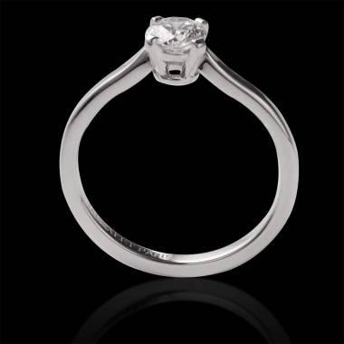 Diamantsolitär in Weissgold Vanessa Solo