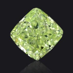 Diamant Fancy-light-yellow-green - Jaubalet