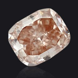 Diamant fancy orange pink - Jaubalet