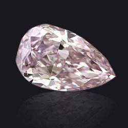 Diamant Fancy purple poire - Jaubalet
